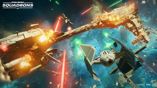 """Animacja """"Hunted"""" wprowadza w świat nadchodzącego """"Star Wars: Squadrons"""""""