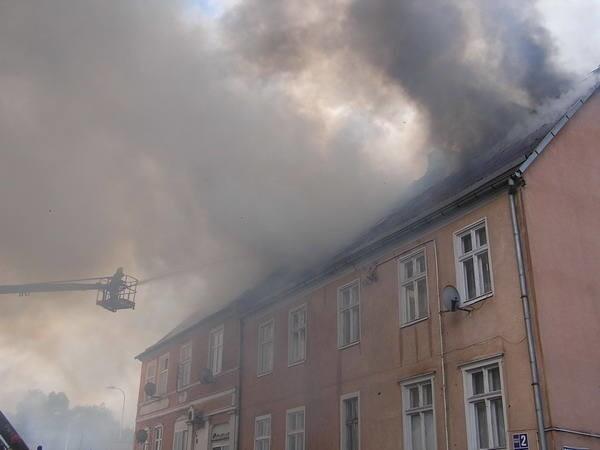 W maju 2007 r. doszło do pożaru dwóch kamienic w centrum Miastka (koło starego kościoła). Kilkanaście  rodzin straciło dorobek życia. Ludzie uciekali z płonących mieszkań, tak jak stali. Po pożarze kamienice zostały zburzone.