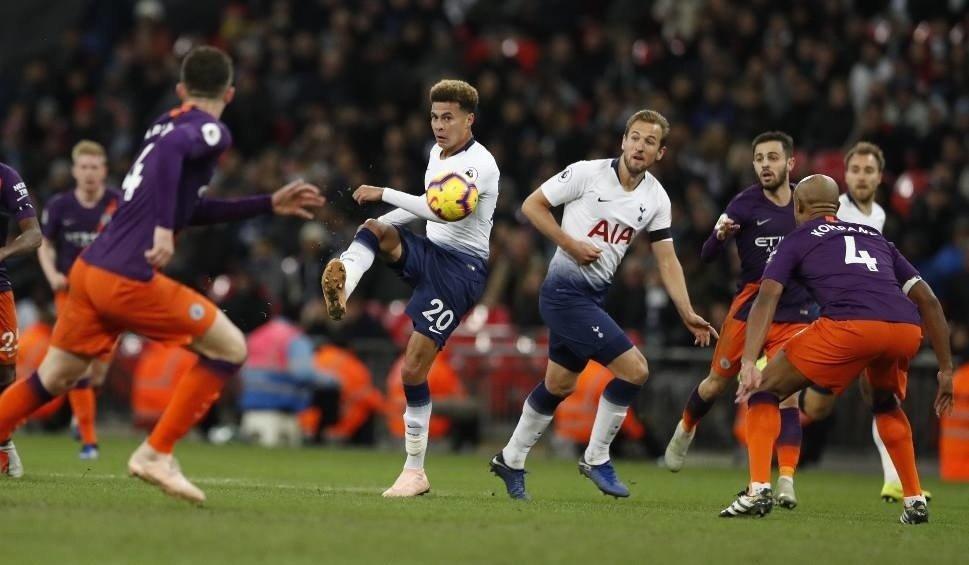 3665fb742 Na zdjęciu: piłkarze Tottenhamu Hotspur. Mecz Tottenham Hotspur - Ajax  Amsterdam to pierwszy półfinał