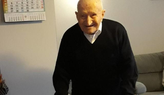 Zmarł Józef Woźniak, najstarszy mieszkaniec województwa łódzkiego. 11 listopada obchodził 108 urodziny.