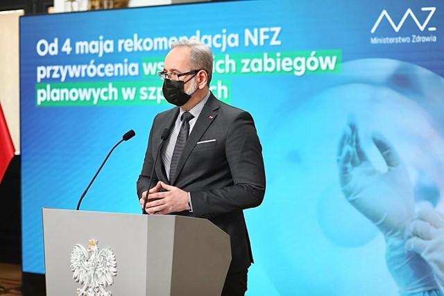 Testy potwierdziły dwa nowe ogniska indyjskiej mutacji koronawirusa w Polsce