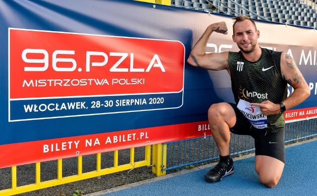 Oszczepnik Marcin Krukowski liczy we Włocławku na dwunasty z rzędu tytuł mistrza Polski. Zawodnik InPost Athletic Team wygrał jedenaście ostatnich mistrzostw Polski w różnych kategoriach wiekowych