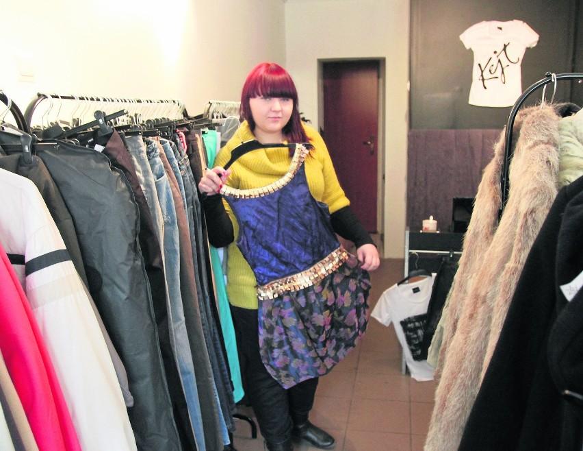 W komisie przy ul. Wschodniej można wymienić się ubraniami