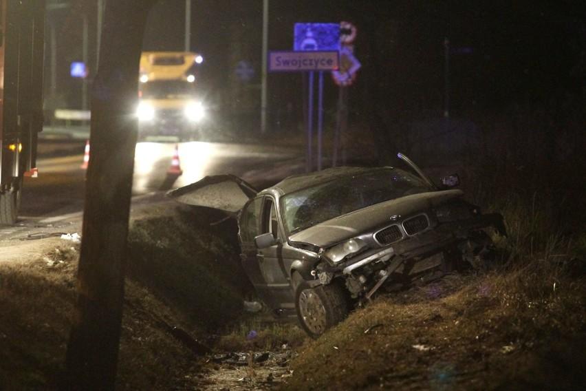 Śmiertelny wypadek na Swojczycach