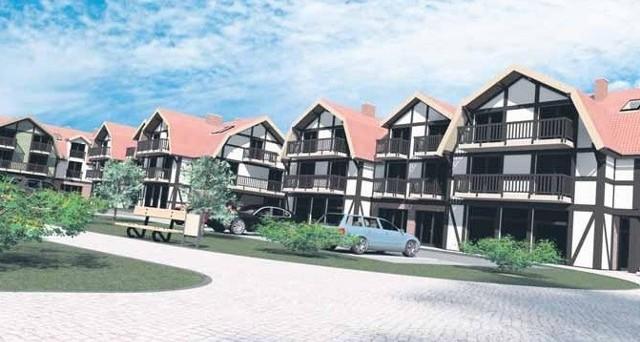 Rowy-apartementyTak ma wyglądać osiedle apartamentowców w Rowach.