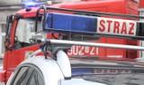 Pożar autobusu w Mysłowicach. Pojazdem jechał kursant. Ogromne utrudnienia