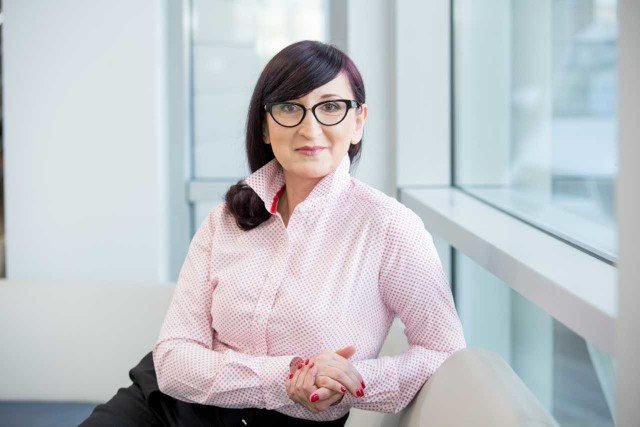 Dr Dagmara Kawoń-Noga, wykładowca WSB w Opolu.