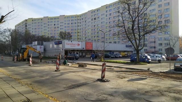 W tym roku przy ul. Zarzewskiej wymieniona zostanie część chodnika.