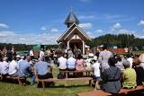 W Świętym Miejscu poświęcono kaplicę. Zobacz kto przyszedł