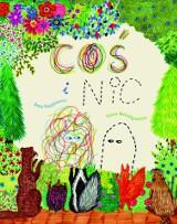 """Książka dla dzieci """"Coś i nic"""". Opowiada o tym, że NIC może mieć duże znaczenie, a COŚ nie musi się zawsze wszystkim przechwalać"""