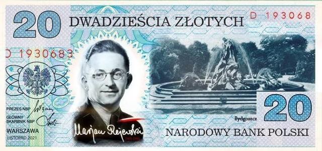 Prezydent Bruski zwrócił się do Narodowego Banku Polskiego o emisje banknotu z wizerunkiem Mariana Rejewskiego.