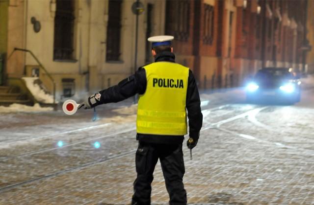 Policyjna kontrola - zdjęcie ilustracyjne
