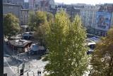 Katowice: szpetne targowisko zniknie z centrum miasta? Wraca temat placu Synagogi ZDJĘCIA
