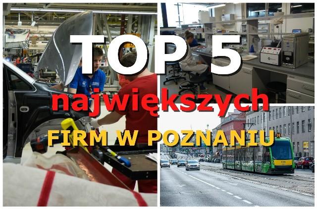 Oto pracodawcy, którzy w Poznaniu zatrudniają najwięcej pracowników. U największego z nich pracuje aż 8 tysięcy osób! Zobacz TOP 5 największych firm w stolicy Wielkopolski.Przejdź dalej i sprawdź ranking --->