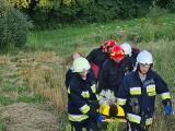 Chłopiec spadł ze skały w Skamieniałym Mieście. W rezerwacie interweniowali strażacy i ratownicy [ZDJĘCIA]