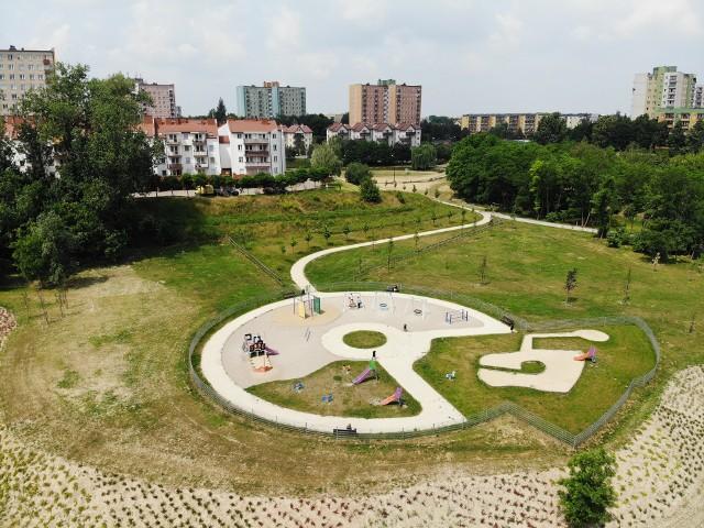 Nowy park o powierzchni ok. 14 hektarów będzie podzielony na kilka części. Nowością będzie ogród sensoryczny