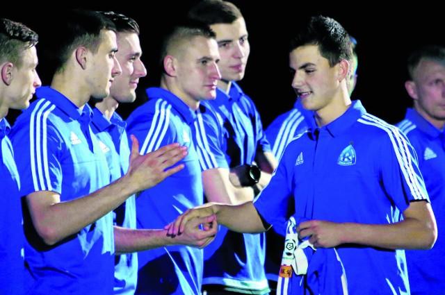 Przemysław Bargiel (z prawej) jest wielką nadzieją Ruchu, ale już w styczniu może trafić do Interu Mediolan