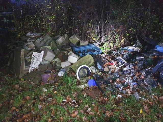 5 ton odpadów z nielegalnych dzikich wysypisk z terenu miasta i gminy