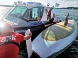 Wigry. Jacht białostoczan wywrócił się i załoga wpadła do wody