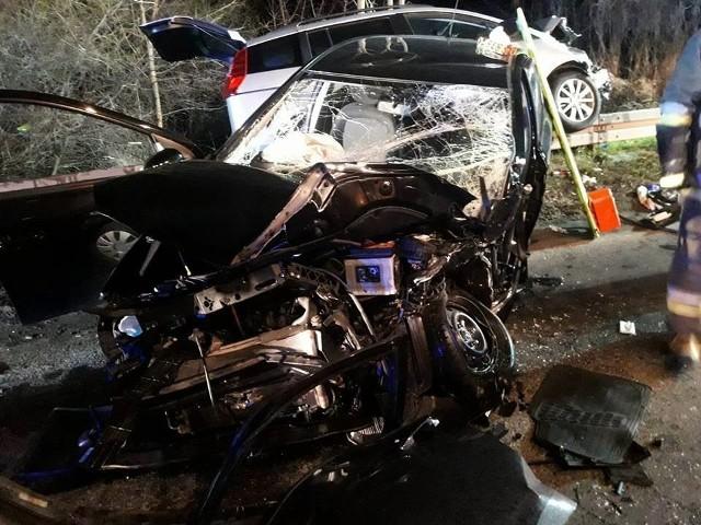 W wypadku zostały ranne dwie osoby.