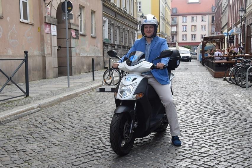 Miejskie skutery we Wrocławiu