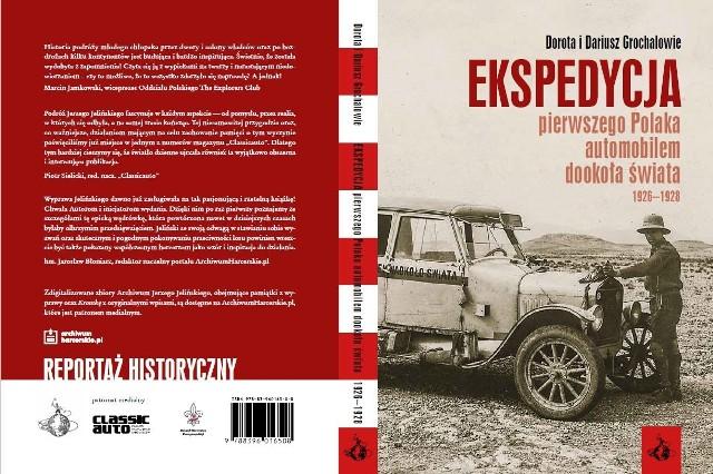 Historia pierwszego Polaka, który w dwa lata przejechał samochodem dookoła świat już w księgarniach