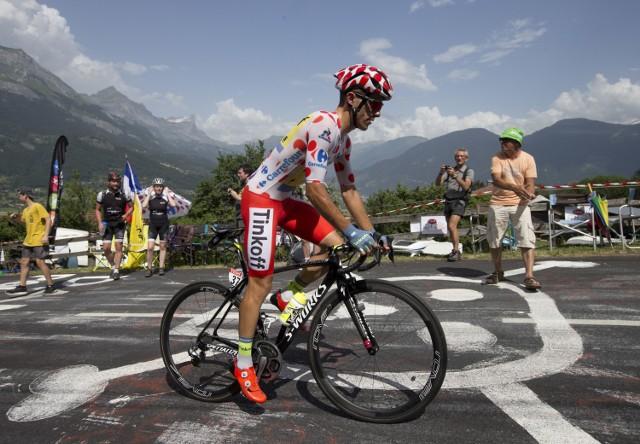 Rafał Majka po raz drugi w karierze najlepszym góralem Tour de France.