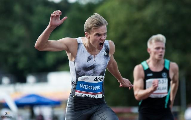 Oliwer Wdowik, sprinter Resovii, od kilku lat zdobywa mistrzowskie tytuły w młodzieżowych kategoriach