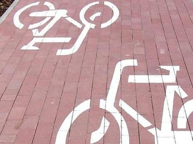 Przy trasie rowerowej Krotoszyn-Piechcin nie przewidziano chodnika.