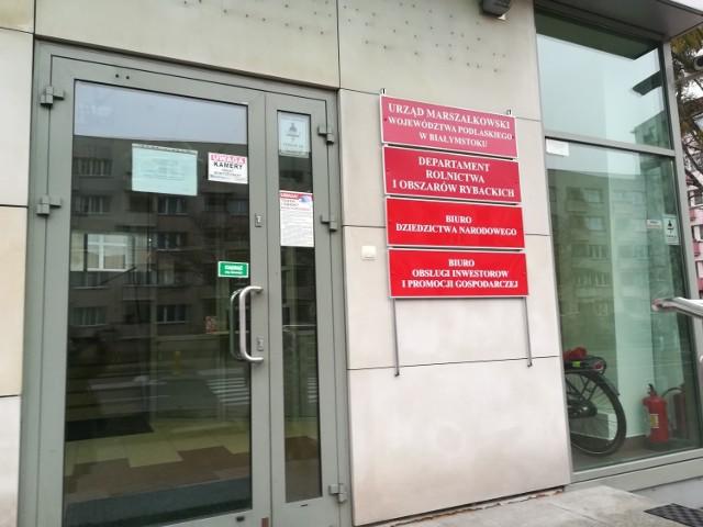 Do budynku przy ul. Skłodowskiej, gdzie niegdyś mieścił się UwB, wprowadzili się urzędnicy Urzędu Marszałkowskiego.