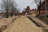 Bulwar nad Nogatem w Malborku powstaje zgodnie z harmonogramem. Władze miasta będą zabiegać o uporządkowanie rzeki