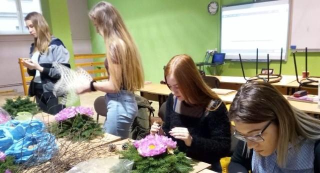 Zajęcia florystyczne w ZS2
