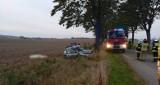 Wypadek koło Zaleskich. Zginął kierowca, któremu dożywotnio odebrano prawo jazdy