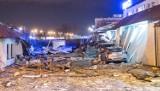 Po budynku przy Łowickiej w Bydgoszczy zostały gruzy [nowe zdjęcia, wideo]