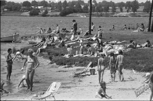 Odpoczynek nad Zalewem Zembrzyckim, 1983