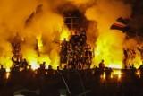 Śląsk Wrocław - Hapoel Beer Szewa. Klub nie uniknie kar za odpalenie rac i przerwanie meczu przez pseudokibiców [FILMY, ZDJĘCIA]
