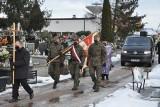 Pogrzeb Kazimierza Warchoła - Wilewskiego, komendanta Młodzieżowego Ruchu Oporu w Tarnobrzegu (ZDJĘCIA)