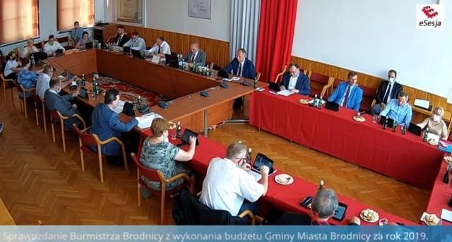 Sesja Rady Miejskiej w Brodnicy