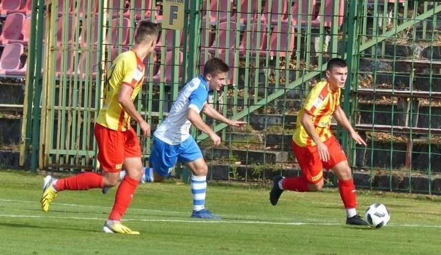 Piłkarze Korony Kielce przegrali na wyjeździe z Zagłębiem Lubin 2:3.