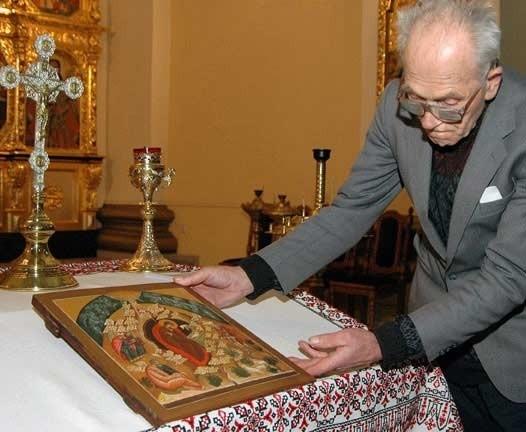 W cerkwiach nie buduje się szopek. Zastępują je ikony przedstawiające narodzenie Zbawiciela.