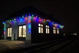 Rybnik: Dworzec kolejowy na Paruszowcu bajecznie oświetlony ZDJĘCIA