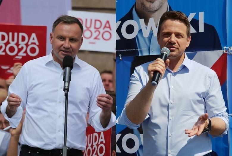 Andrzej Duda i Rafał Trzaskowski walczą o każdy głos