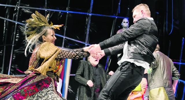 """Przy okazji próby medialnej """"Wesela"""", najnowszego spektaklu w Narodowym Starym Teatrze, Jan Klata nie ukrywał swego zdania co do konkursu"""