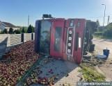 Sułków: Nietrzeźwy kierowca od rozsypanych jabłek gotów poddać się karze. Jakiej?