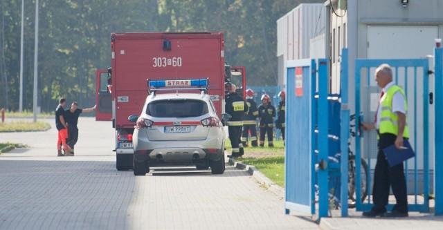 Wyciek wybuchowej substancji w zakładzie 3M we Wrocławiu. Zdjęcie ilustracyjne