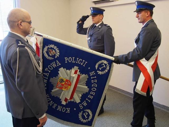 Młodszy inspektor Krzysztof Sztejka został powołany na stanowisko komendanta powiatowego policji w Świebodzinie.