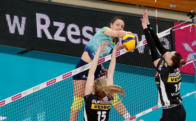Jelena Blagojević była najjaśniejszą postacią w zespole Developresu w ostatnim meczu w Rzeszowie.