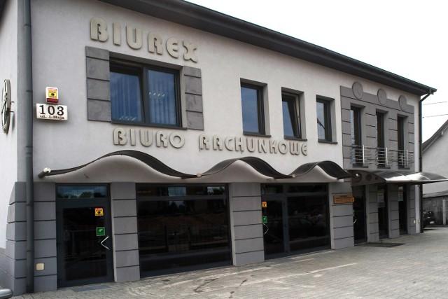 Liderzy Regionu 2012: Biuro Rachunkowe Biurex Ryszard i Michał Cielibała z KielcBiuro Rachunkowe Biurex swoją siedzibę ma w Kielcach przy ulicy 1 Maja 103.