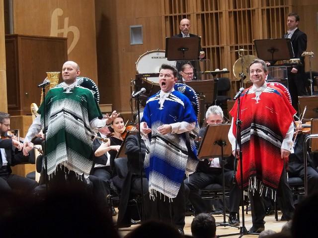 OiFP. 10.01.2020 koncert noworoczny - trzech tenorów: Adam Zdunikowski, Adam Sobierajski i Łukasz Gaj