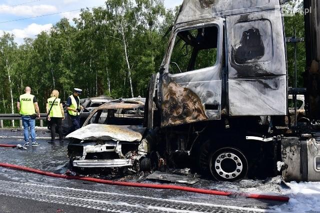Do wypadku na autostradzie A6 pod Szczecinem doszło 9 czerwca 2019 r.